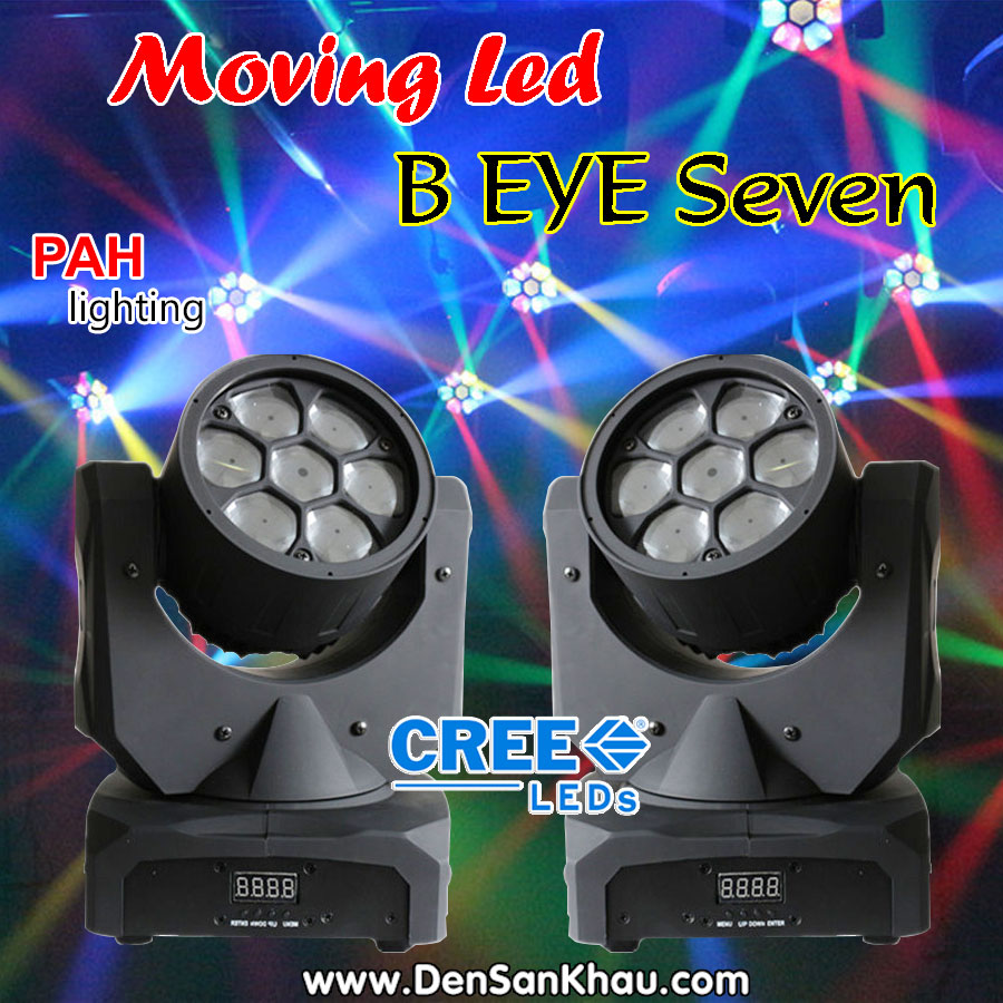 Đèn B EYE Moving 7 LED