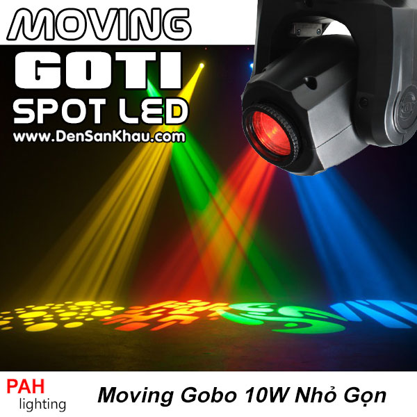 Đèn moving spot Goti