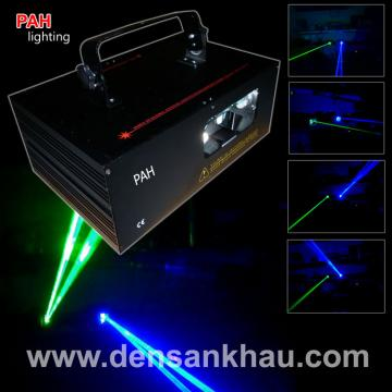 Đèn laser 2 tia beam Blue - Green