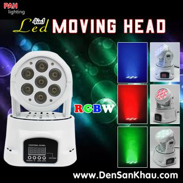 Đèn moving head led 4in1 RGBW