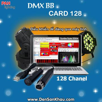 DMX BB card 128