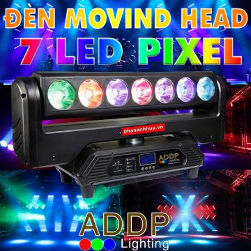 Đèn Moving Head 7 Bóng LED Pixel