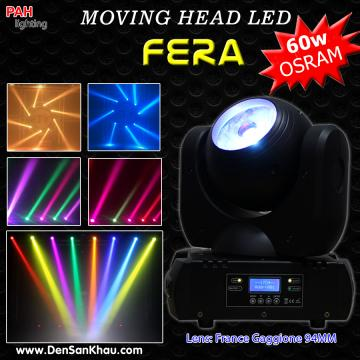 Đèn moving LED Fera 60w