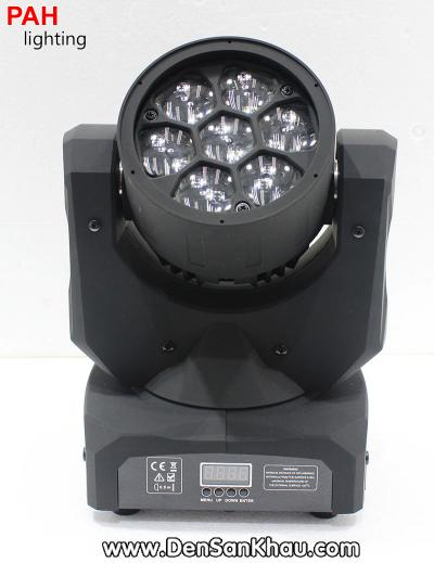Đèn B EYE Moving 7 LED 1
