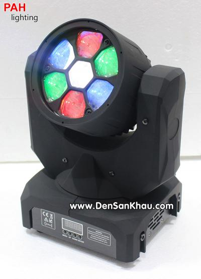 Đèn B EYE Moving 7 LED 5